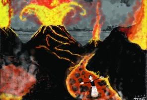 volcanoes be in sicily, digital, 2017