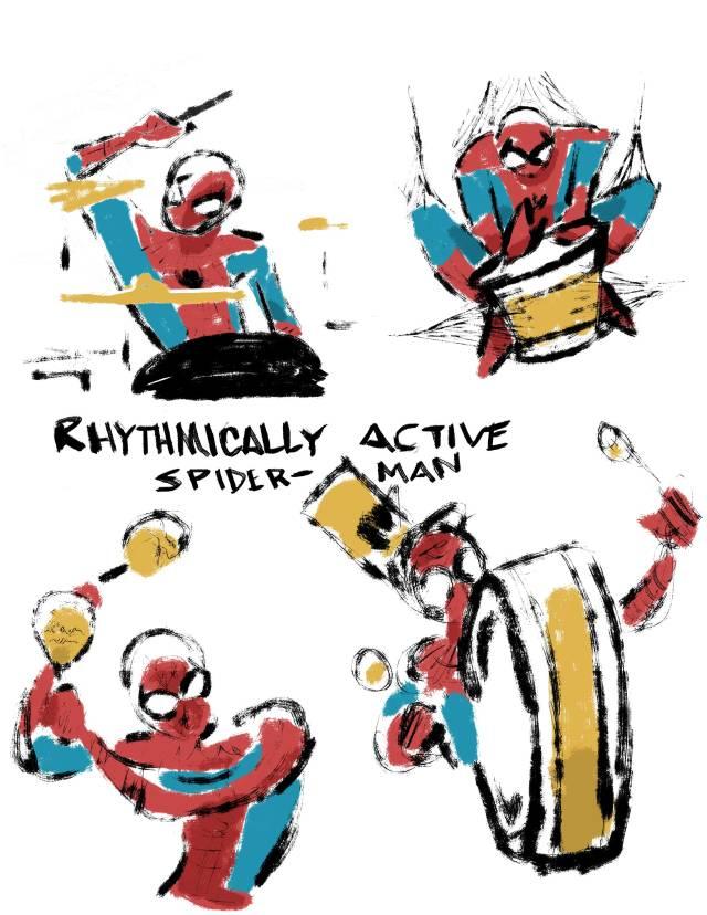 rhythmically-active-spidey