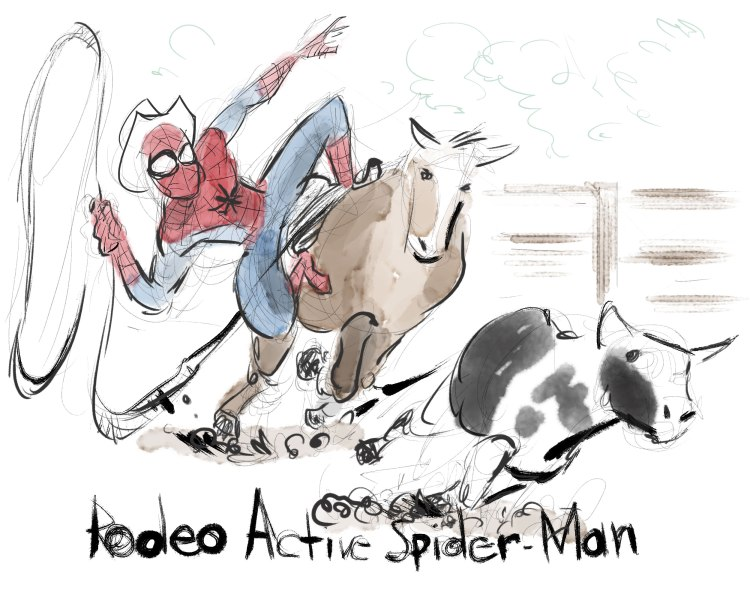 Rodeo-Active-Spider-Man