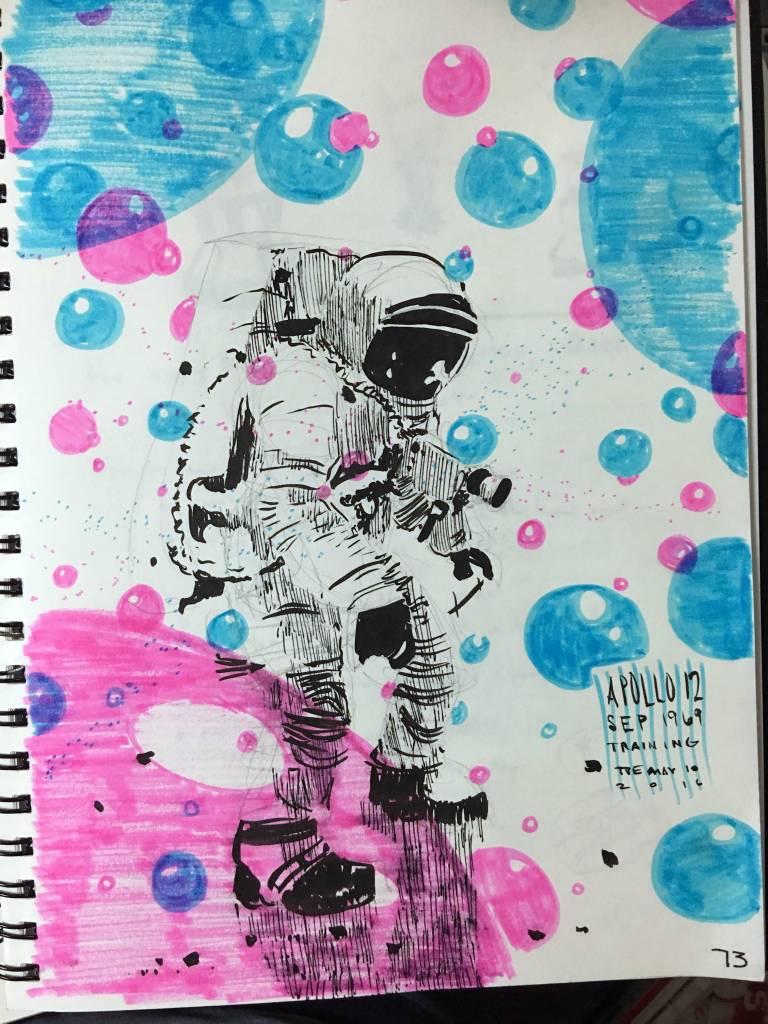 sketch-astronaut-party