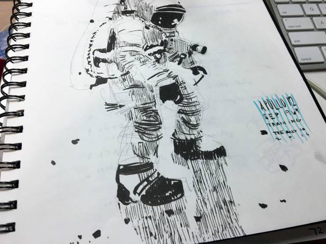 sketchbook-astronaut